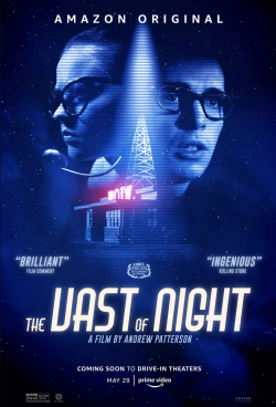 Vast of night poster